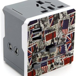 Multi Flag Travel Adapter